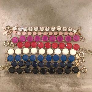 Jewelry - Crystal bracelet lot